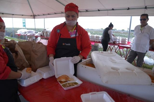 Servicio de banquetes Matamoros Posada Tridonex 2017