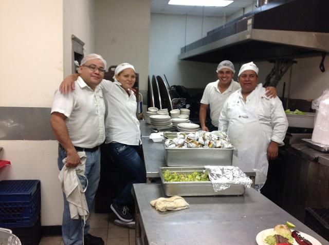 Servicio de banquetes